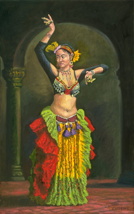 """Teressa as Dancer""  50 x 30""  (sold)"
