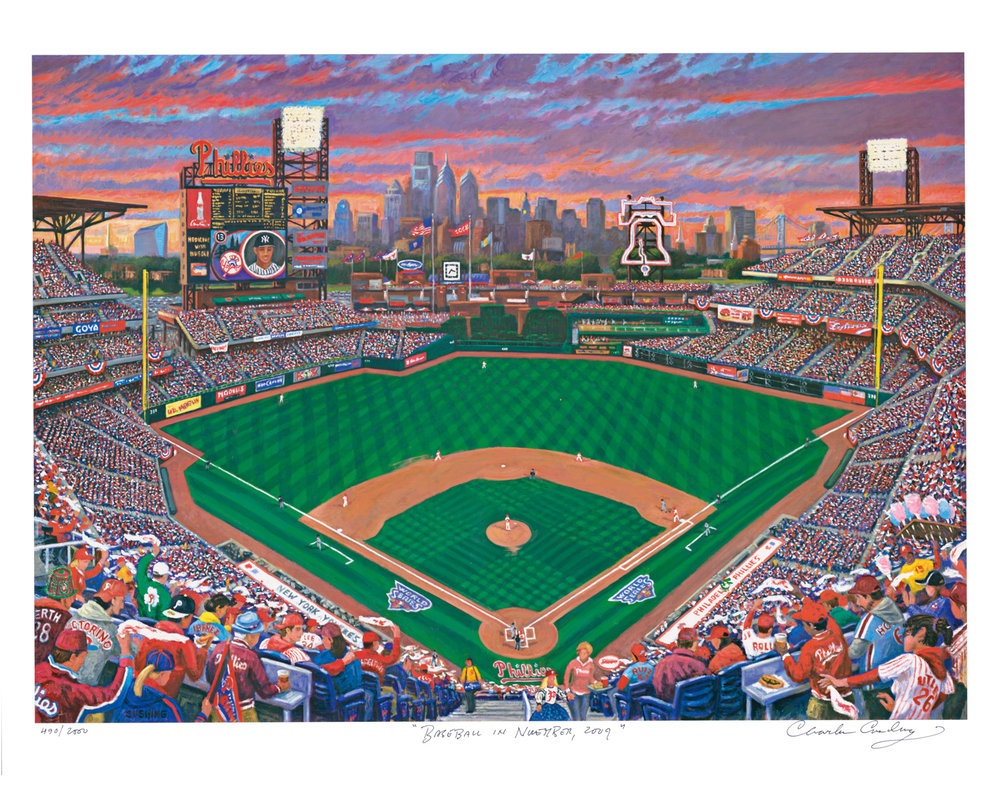 """Baseball in November, Philadelphia, 2009""  24 x 30""  $50.00"