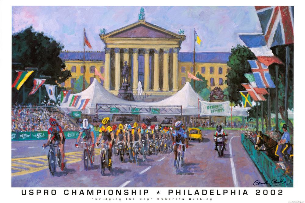 """USPRO Championship, Philadelphia 2002""  24 x 36""  $30.00"