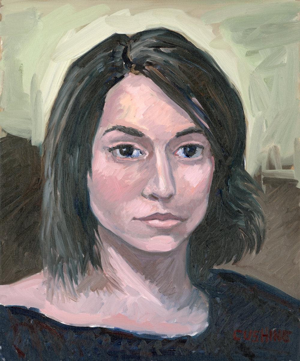 """Portrait Study of Galina""  24 x 20"". $1250.00"