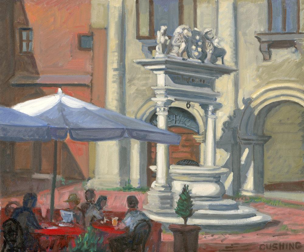 """Cistern, Montepulciano""  20 x 24"" $1750.00"