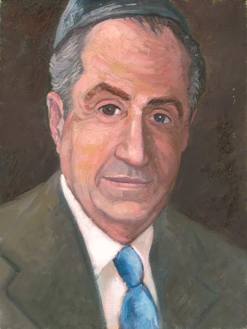 """Small Study for Leon Levy Portrait"". 16 x 12""  $250.00"