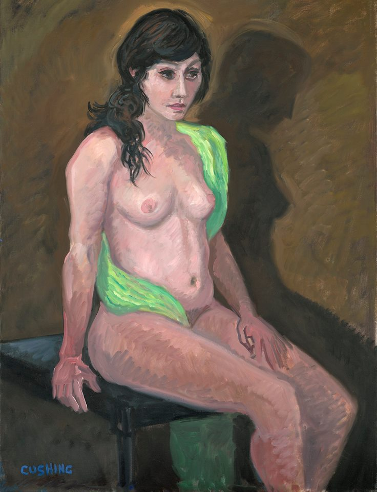 """Young Woman Nude""    50 x 30""  $3500.00"
