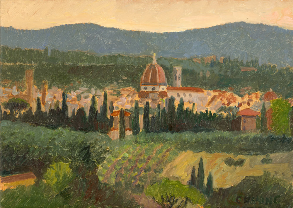 "Flornece from Fiesole""  15 x 21""  $1500.00"