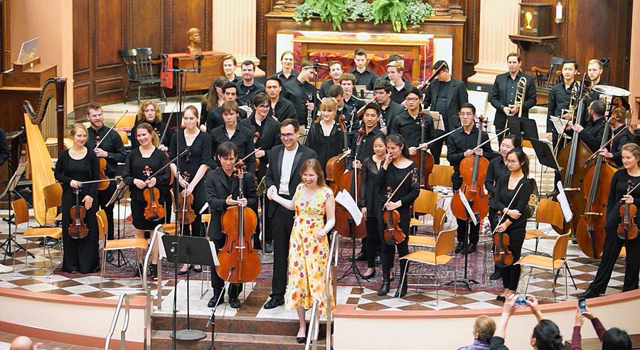 Eureka Ensemble takes a bow. (Photo credit: Brandon Johnson)