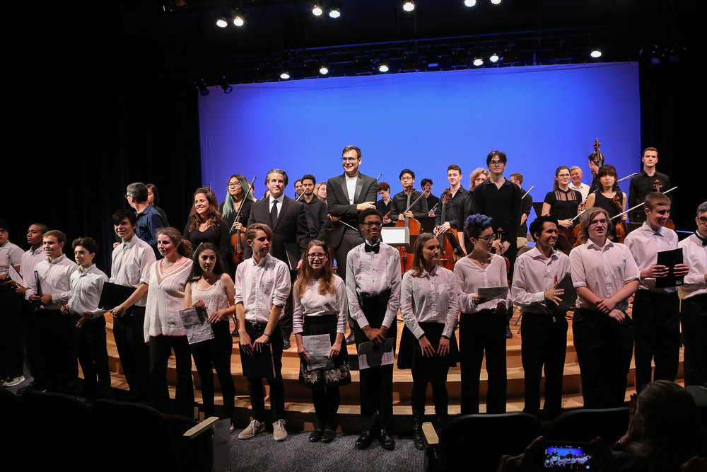 Eureka Ensemble performs at BC High