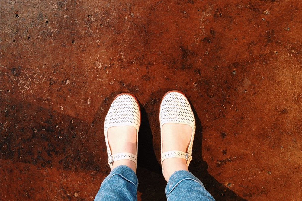 Super cute Mary Janes from Urban Outfitters--PERFECT shoes for summer.