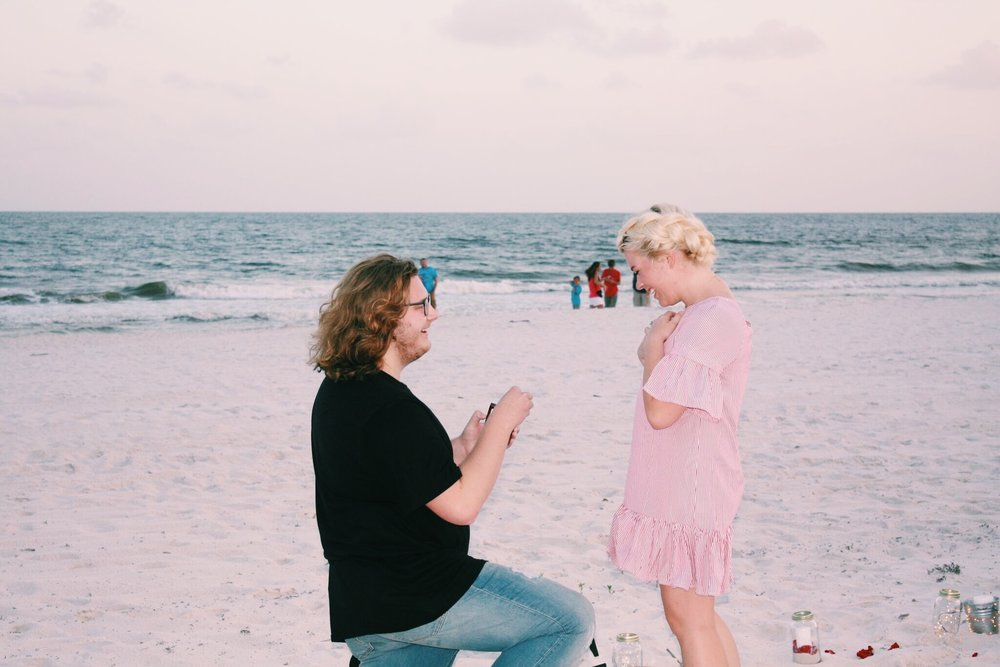How He Proposed Our Engagement Story Em