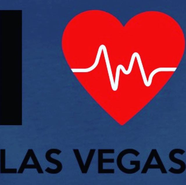 Placing our intentions on Vegas today. #SendingLove