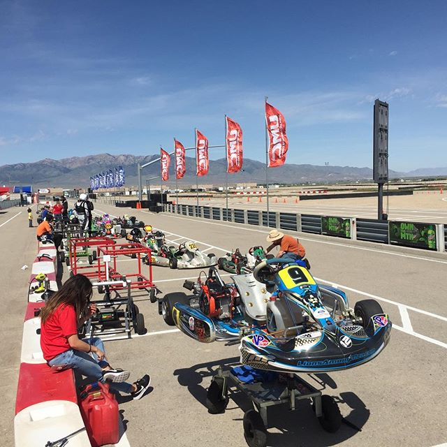 Weather was perfect. Turnout was amazing. Hours of driving. #testandtune #sundayfunday #karting