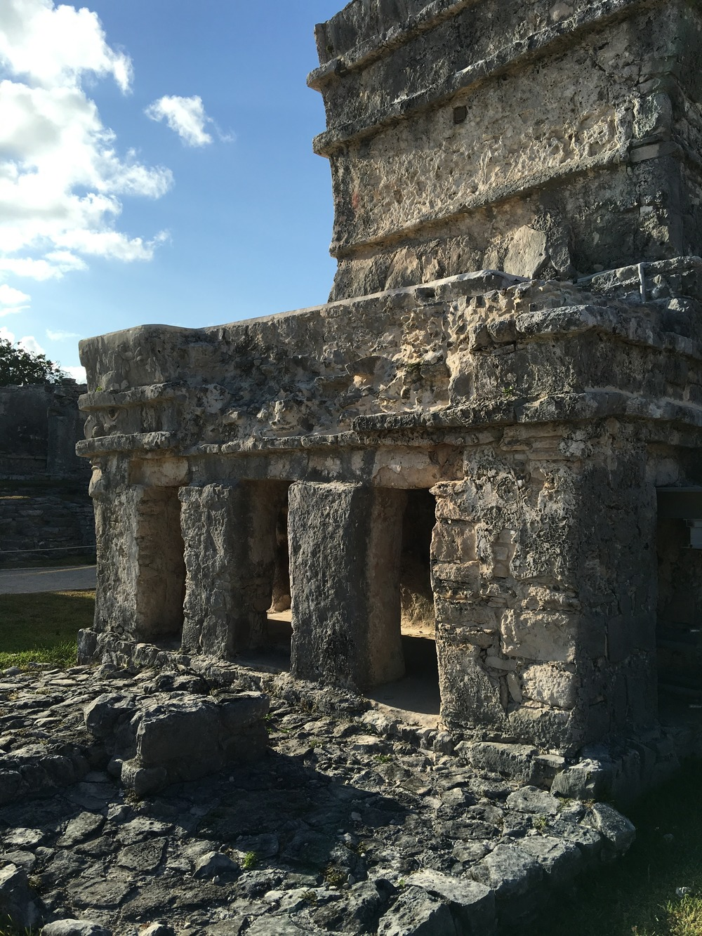 Everything about the ruins at Tulum is unique.