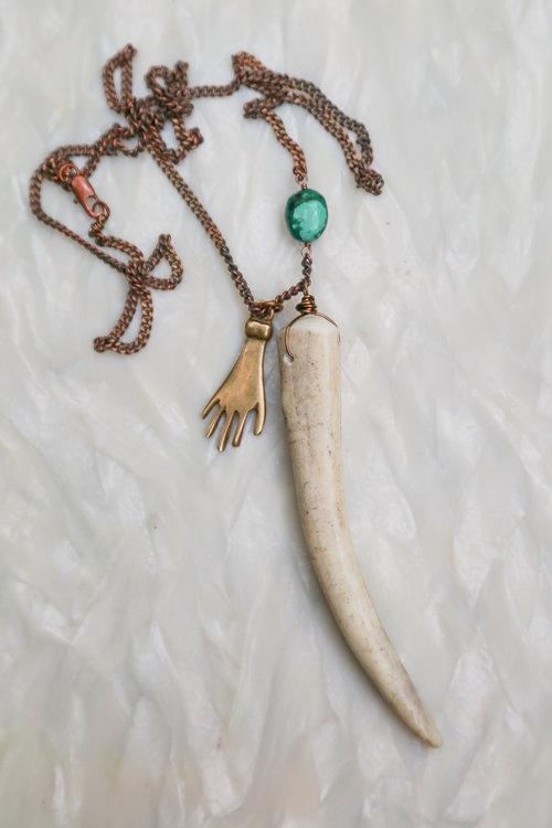 Talisman\' Wire Wrap Necklace — HIVE