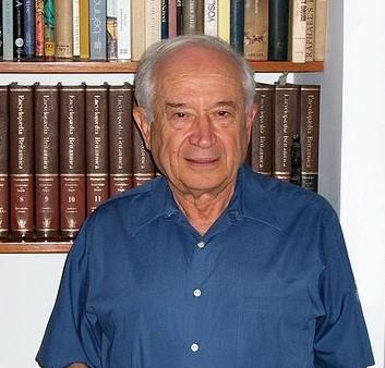 Professor Raphael Mechoulam (courtesy WikiCommons)