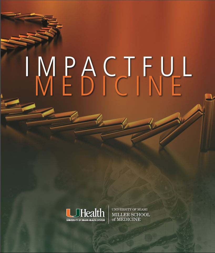Annual reports - Project management, writing and editorial work on the 2016 and 2017 editions of the Annual Report of the University of Miami's Department of Medicine.
