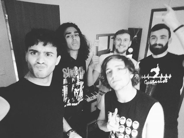 We just wrote an album in.3 days and its amazing #music #holiday #cambersands #ukhardcore #band #squadgoals  #squad #imetapony #london #awesomness #song #songwriting #banter #ladsontour