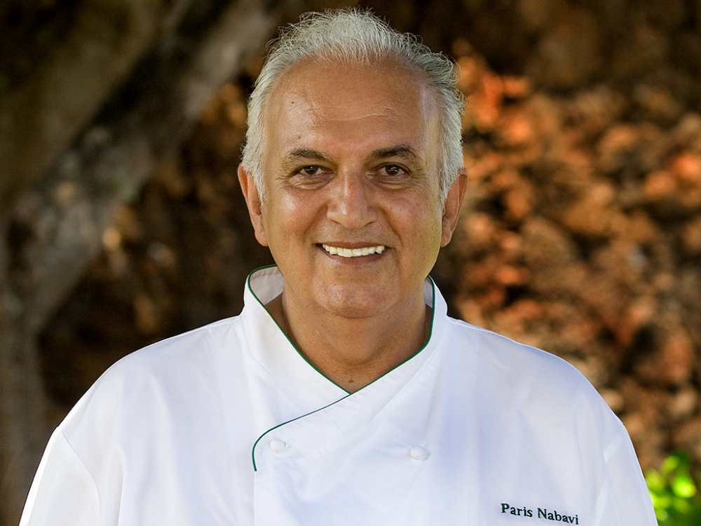 Chef Paris Nabavi