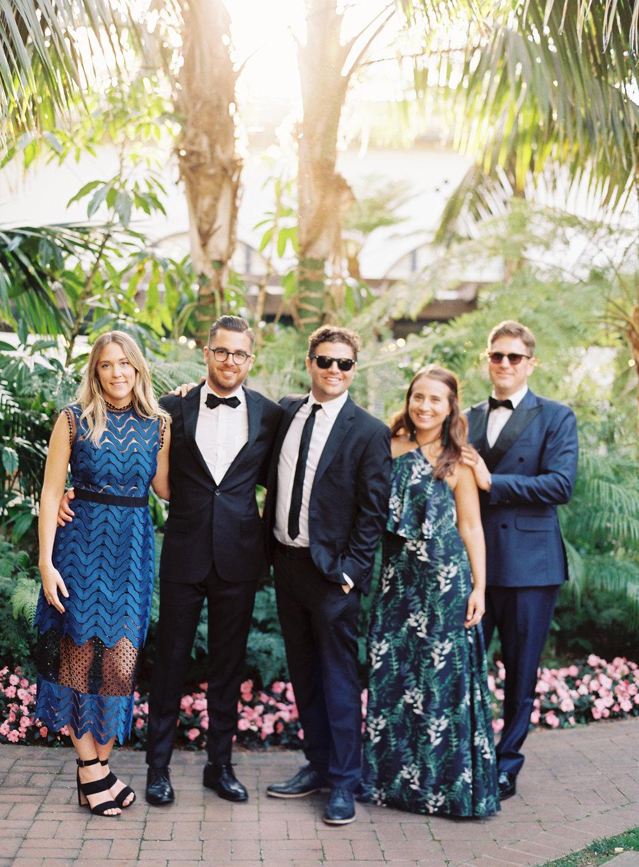 Braedon Flynn Photography // Black Tie Optional Wedding Attire