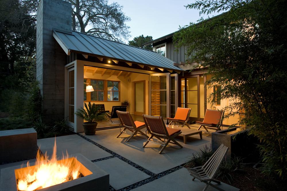 backyard retreat studio green
