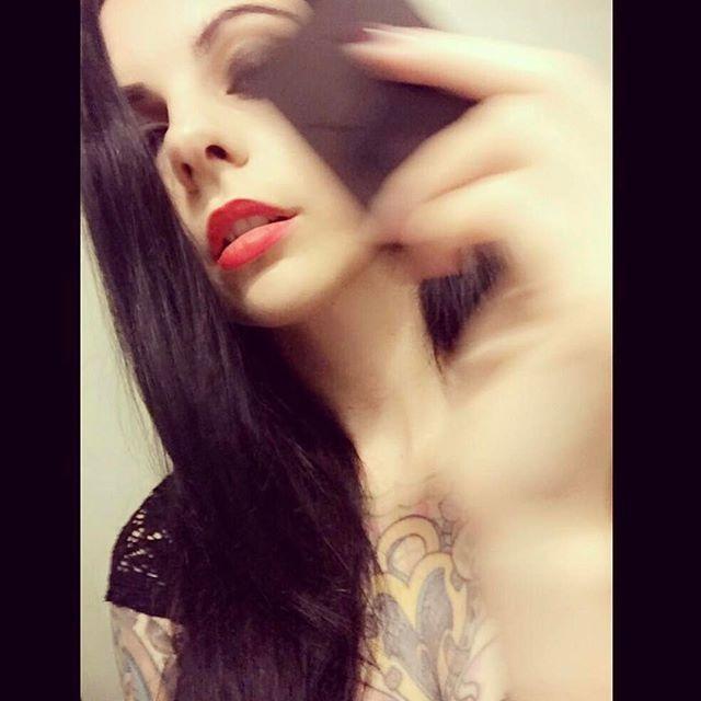 #Repost @pandiesuicide ・・・ In motion @xcloakanddaggerx #xcloakanddaggerx #allblackeverything #tattoos #pandie #pandiesuicide #redlips #suicidegirl #suicidegirls #blackno1 #motionblur 💀 @suicidegirls