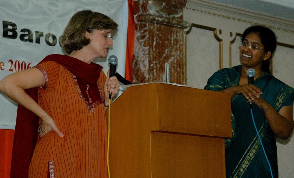 women's conference in vadodara, india