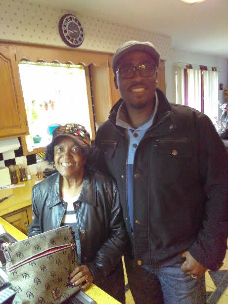 Architect and Tarchitects CEO Tariq Abdullah with his grandmother