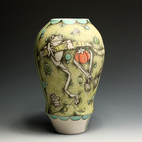 Frog Vase Cjn001 In Tandem Gallery