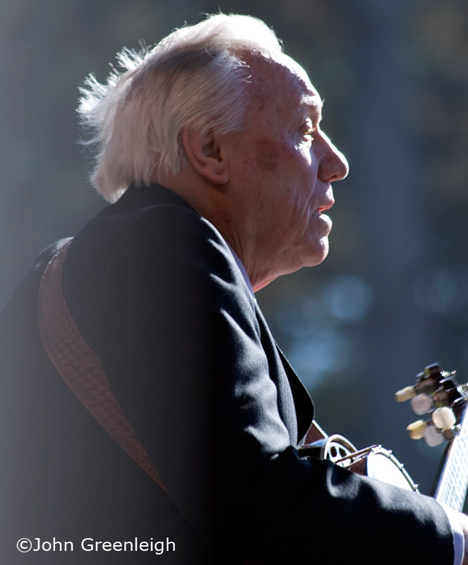 Earl Scruggs at Hardly Strictly Bluegrass Festival