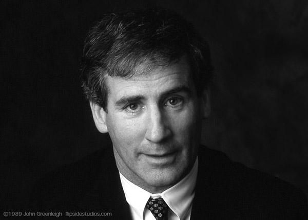 Bill Campbell, December 1989.