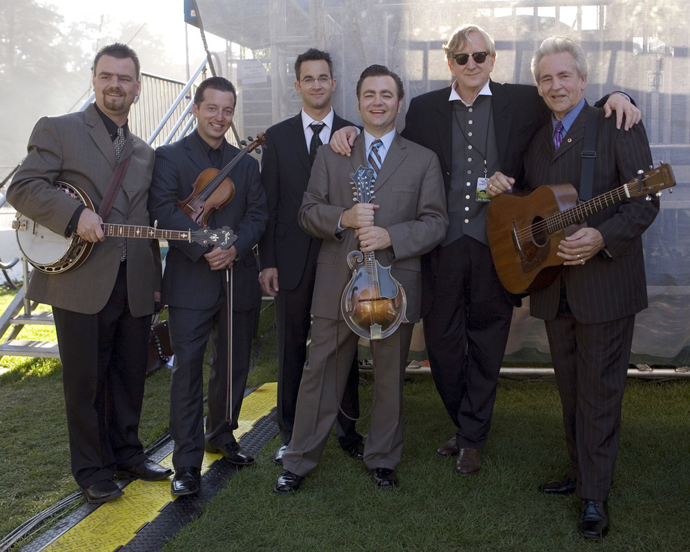 T-Bone Burnett, Del Mccoury and band, Hardly Strictly Bluegrass Festival
