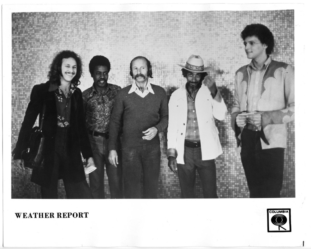 Weather Report PR photo taken at LAX