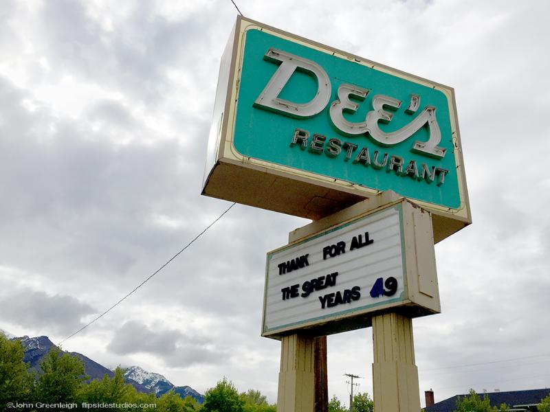 Dee's restaurant, Ogden UT