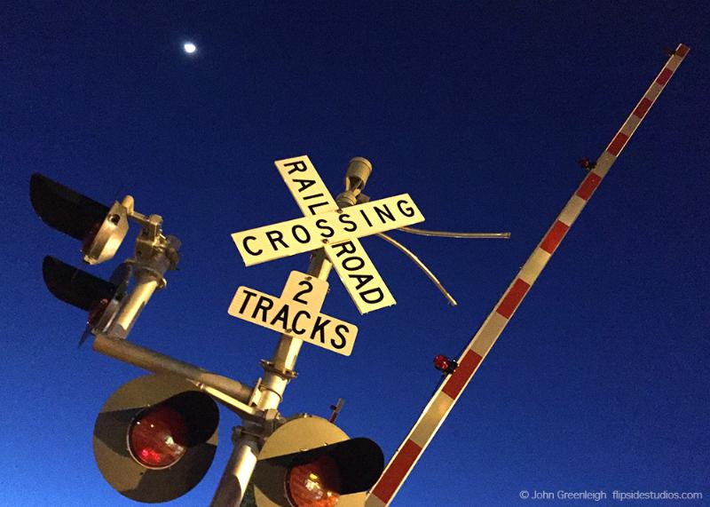 Railroad post, San Rafael
