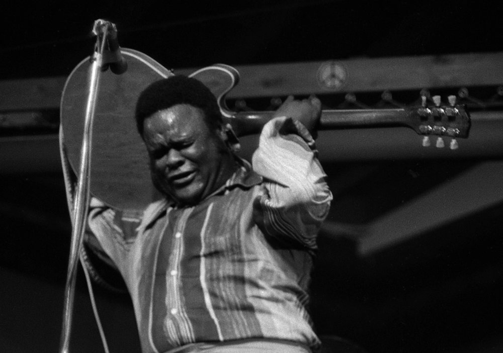 Freddie King at the Ash Grove