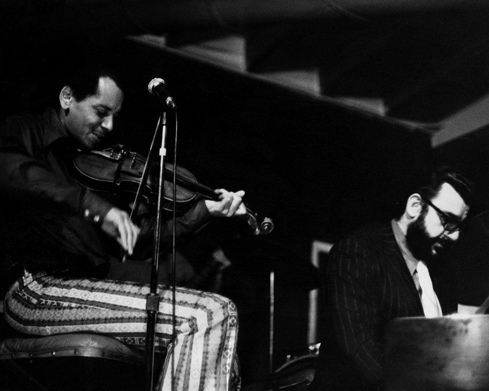 Sugarcane Harris & Johnny Otis at the Ash Grove