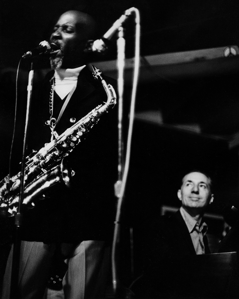 Eddie Cleanhead Vinson & Leonard Feather at the Ash Grove
