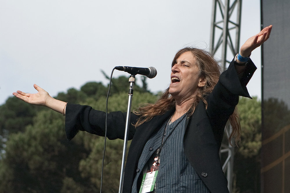 Patty Smith, San Francisco 2010