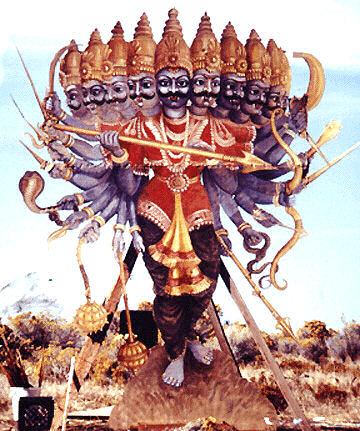 """Meet Ravana:Sanskrit for """"of terrifying roar"""" ( source )"""