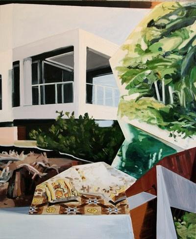 Dwelling,  2010 Oil on canvas 122 x 101.5 cm