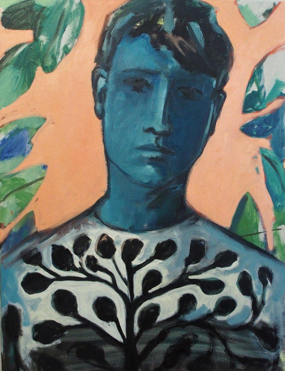 Son, 2017 Oil on canvas 66 x 50.5 cm
