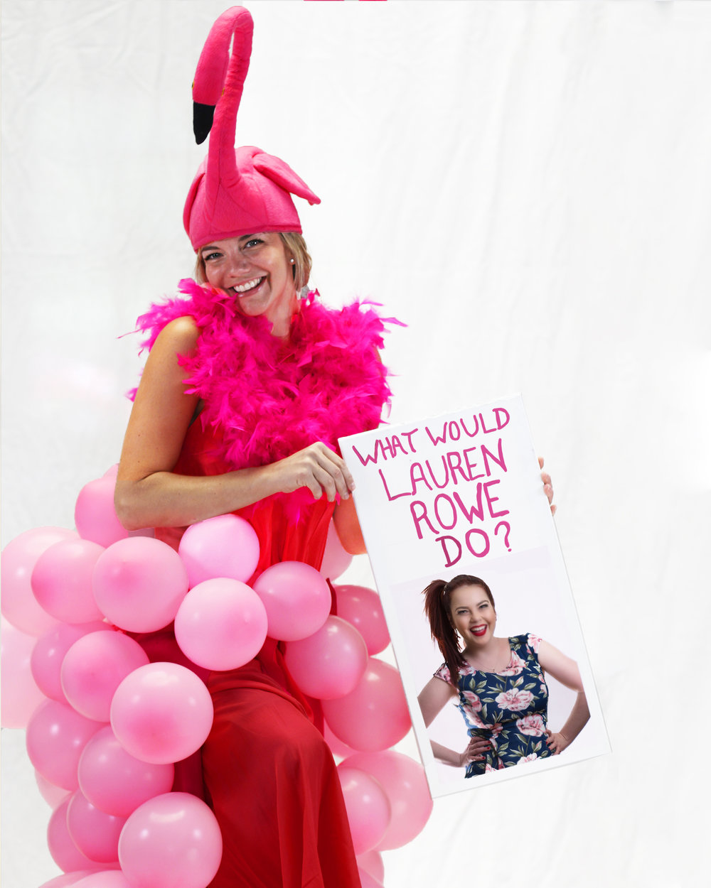 If you had 75 pink balloons, what would you do? - be sexy, what else...(Lauren Rowe)