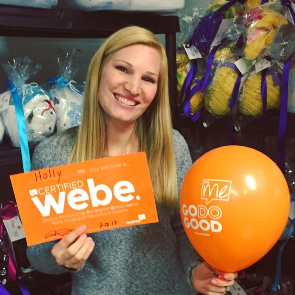 """I am a nurse and I've been waiting for a very long time to hear someone speak about healthcare like HealthBeMe does. It's about time!"" - Holly Christensen, Webe Co. - Magic Yarn Project"