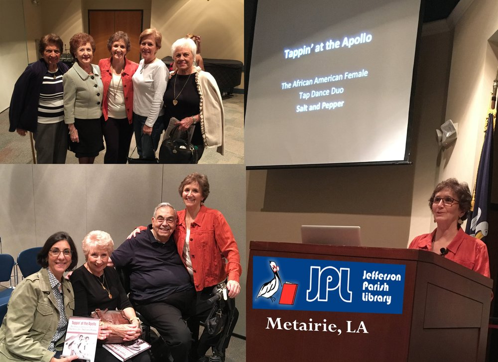 Jefferson Parish Library book signing with Rosemary Gennaro, Carol Daigle, Michelle Daigle, Cissy McShane, Terri Shea, Joann and Tony Digeorge.  October 2016