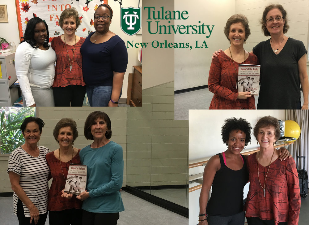 Book Launch at Tulane University with Barbara Hayley, Alice Pascal Escher, Beverly Trask, Nicole Boyd-Buckles, Gaynell Robinson-Watkins, Elizabeth Stewart-Ackers.  October 2016