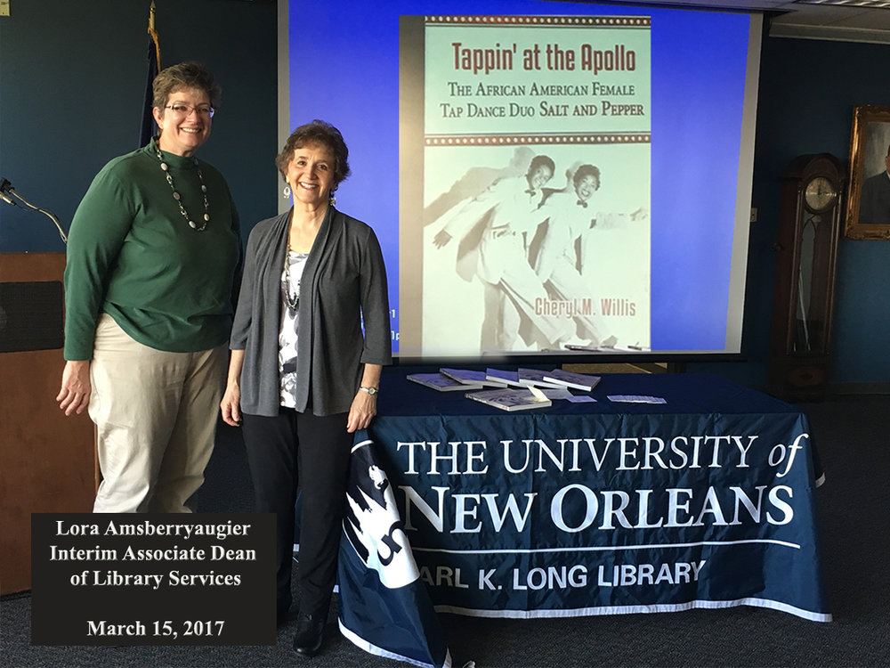 Presentation at The University of New Orleans March 15, 2017