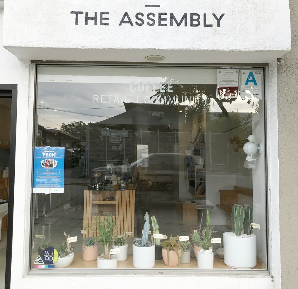 THE ASSEMBLY CAFE634 N ROBERTSON BLVD, WESTHOLLYWOOD, CA 90069 -