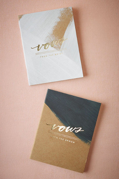 BHLDN Gift Vow Books