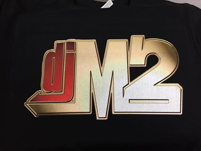 Big shout out to @djm2_ for running his logo tees with us!! Get your custom merch at www.reliablecreatives.com