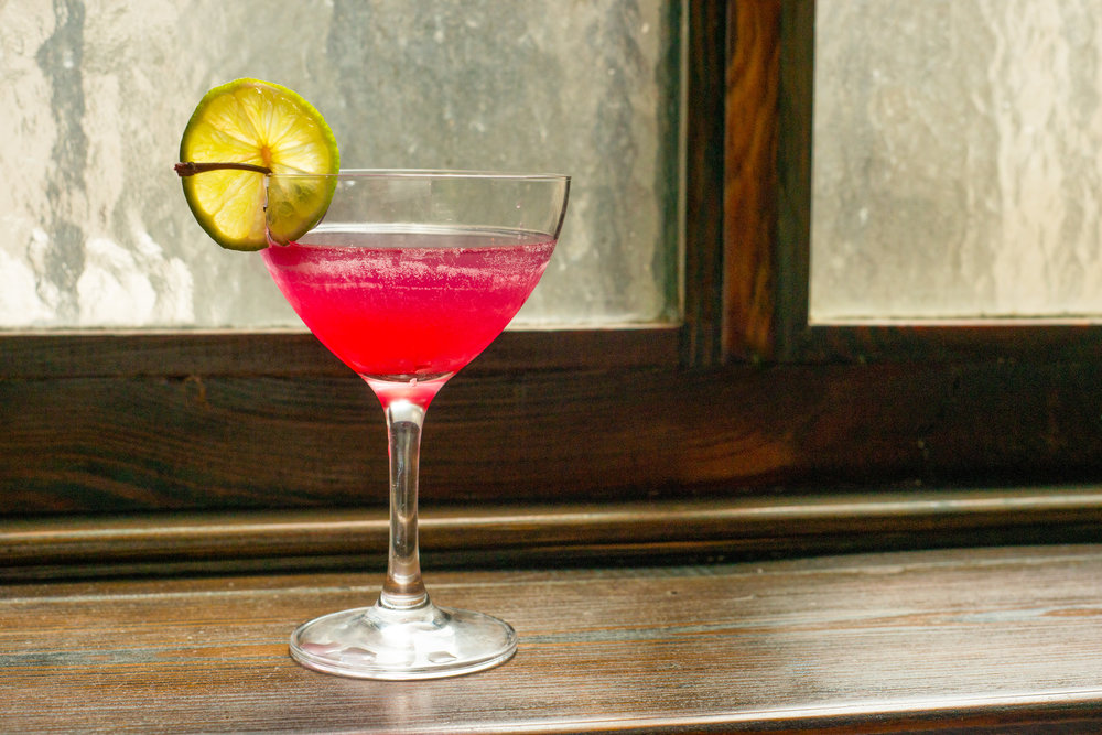 House cocktail: Le Pompon