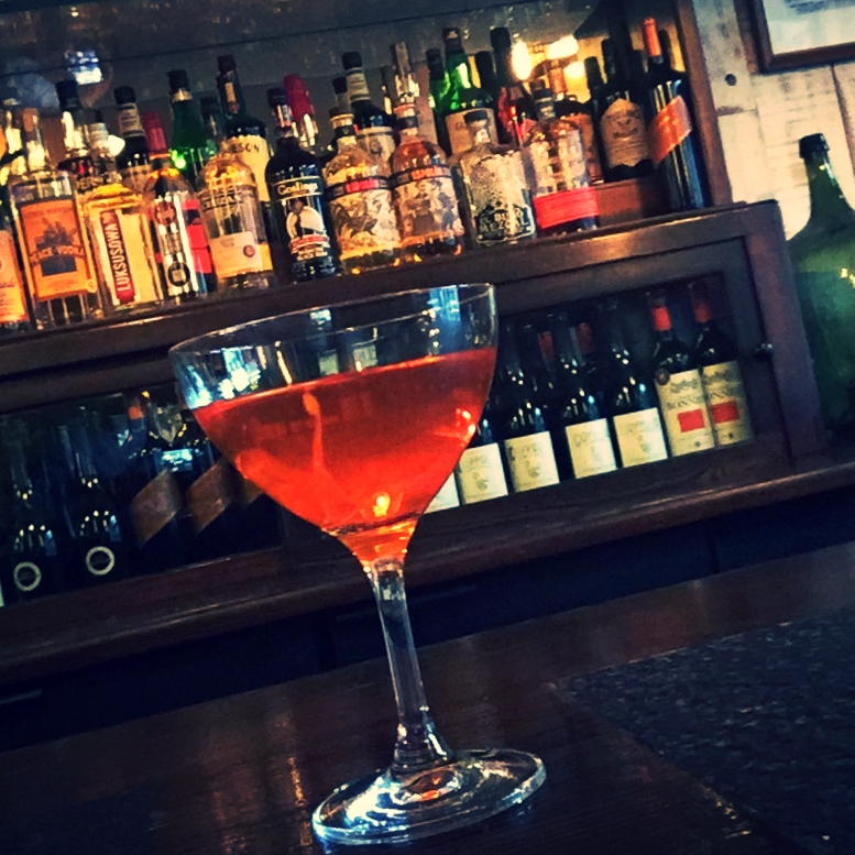 House cocktail: the Omartini