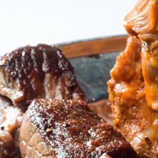 The #Couscous royal comes with 4 types of delicious meats... just sayin'. ~~~~~~~~~~~~~~~~~~~~~~~~~~~~ #algerianfood #moroccanfood #tunisianfood #frenchfood #meatlover #brooklyn #brooklyneats #delicious #instafood #instafoodie #foodie #foodporn #foodgasm #nyceats #nycfood #nycfoodie #nycfoodporn #nyfood #nyfoodie #eeeeeats #nomnom